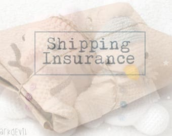 Crochet Shipping Insurance IMPORTANT Please Read BEFORE Buying!