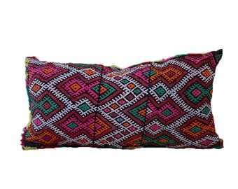 Vintage Kilim Pillow Morocco 62 x 37 cm
