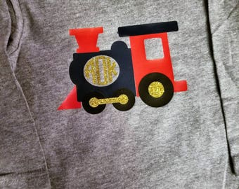 Monogram Train for Toddlers