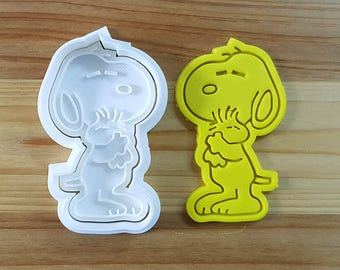 Snoopy Cookie Cutter and Stamp