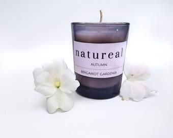 Bergamot and Gardenia Autumn Candle