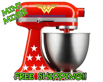 Wonder Woman Kitchenaid Stand Mixer Decal Set Deluxe Edition