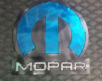 Mopar Metal Sign