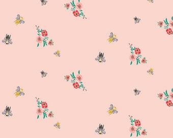 Bees Bits Mellow Fabric