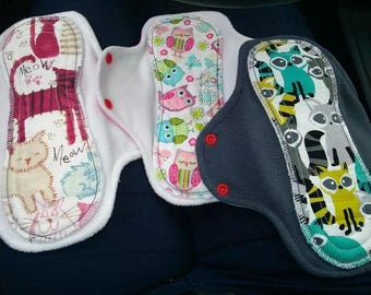 Washable surprise set of 3 mama pads