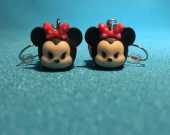 Minnie Mouse Tsum Tsum Earrings