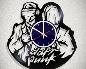 Wall clock Daft Punk  with original design
