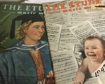 The Etude music magazines