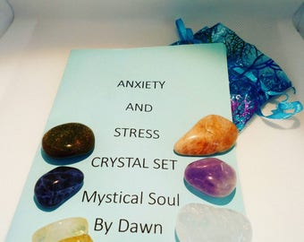 Anxiety and Stress crystal set