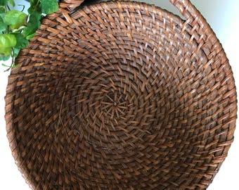Beautiful vintage planter basket