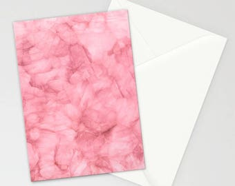 Blush Pink Stationary Set, Thank You Cards, Pink Note Cards, Elegant Pink Stationary Cards, Pink Stationary Cards, Gifts For Her