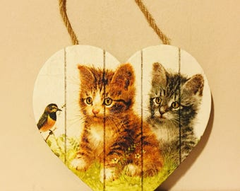 Cat wall/door hanger