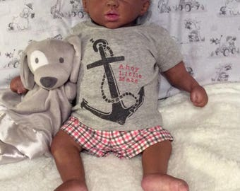African American Reborn Doll ready for adoption - Ryder Lee     Payment Plan Available