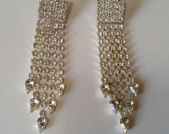Formal Zirconia Earrings
