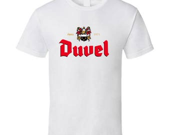 Duvel Belgium Beer Ale Drinking T Shirt