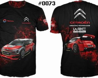 New ultramodern 3D  High Quality  Citroen Racing Total   Men's T-shirt