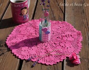 Crocheted Doilies flower