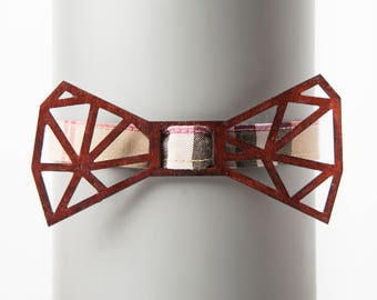 Architect Brown Bow Tie