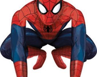 Spiderman Airwalker Balloon, Giant Spiderman balloon, Huge Spiderman balloon, Spiderman Giant balloon, Spiderman giant balloon