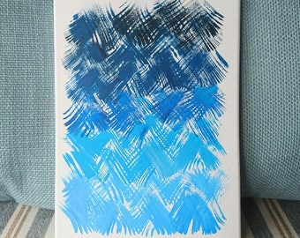 Abstract Line Painting
