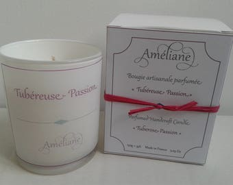 Tuberose - Passion scented candle
