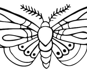 Moth Vinyl