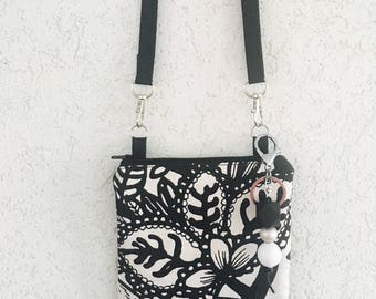 Small Crossbody Bag + Keychain