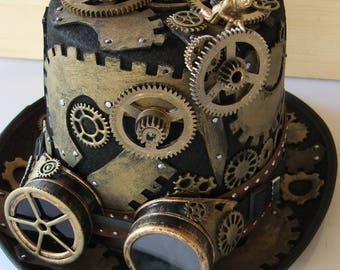 Steampunk factory gears
