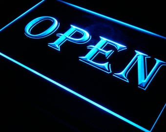 Open Neon Sign LED Sign Open Sign LED Business