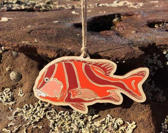 Emperor Red Snapper - Ornament