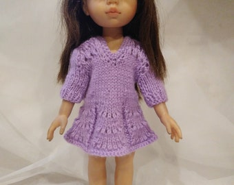 Dress, underwear and socks for Paola Reina doll