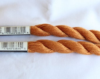 Cotton Pearl DMC 5 orange burnt n 976