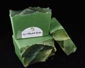 Woodland Pine | Handcrafted Artisan Soap | Christmas | Gift for Him | Luxury | Cold Process | Palm Free | Holiday Collection | Free Shipping