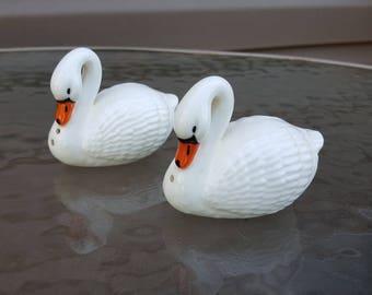 Josef Originals Swan Salt & Pepper Shakers