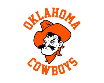 Oklahoma State University Cut Files, Oklahoma State University SVG Files, OSU Svg Cutting Files, OSU Cuttable Svg Dxf File, Instant Download