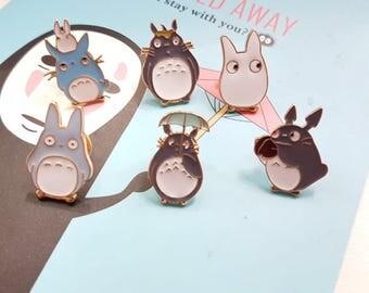 Ghibli Enamel Pins | Cute Totoro Pin