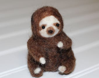 Needle Felt Sloth