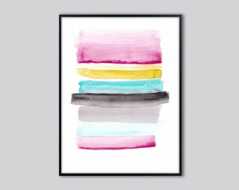 Abstract art print, abstract printable wall art print, large modern abstract art painting, gift for her, INSTANT download abstract print