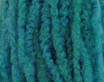 Marley Braid Kanekalon Hair Extensions, Petrol Green