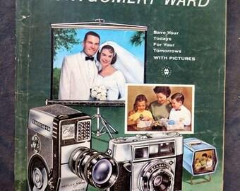 Vintage 1962 Montgomery Ward Camera Catalog
