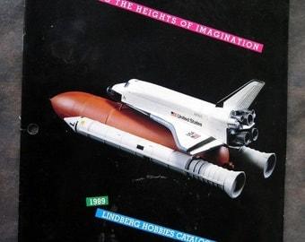 1989 Lindberg Hobbies Catalog Model airplanes, Ships, etc