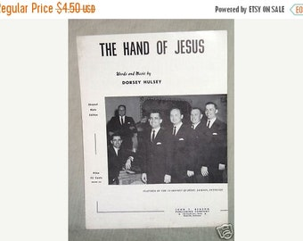 The Hand of Jesus by Dorsey Hulsey Sheet Music