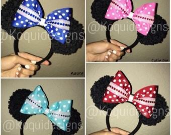 Minnie Ears, Multiple Colors, Mickey Ears, Traditional Minnie Ears, Traditional Mickey Ears, Minnie Mouse Ears, Mickey Mouse Ears