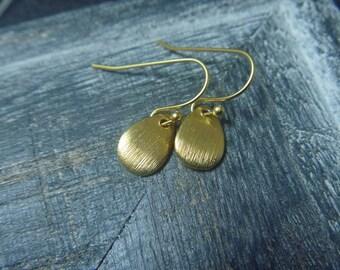 drop earring gold