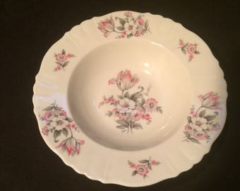 "8"" Aberdeen China SOUP or SALAD BOWL ."