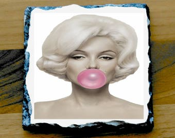 Marilyn Monroe Printed Mug mugs Coaster Coasters