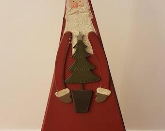 Gisela Graham Large Father Christmas Statue Ornament