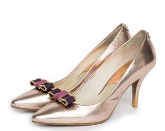 Zippy in Purple - Shoe Clips