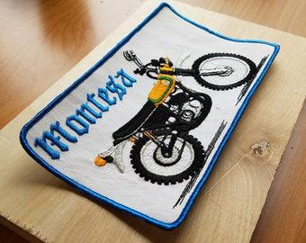 Montesa 1970s Vintage Motorcycle Patch