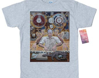 Myron Stolaroff T shirt Artwork by rosenfeldtown